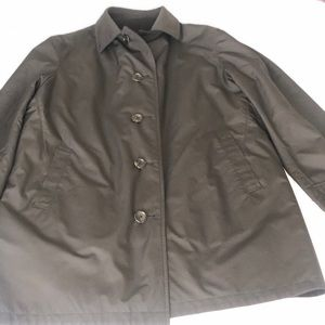Brooks Brothers reversible rain coat